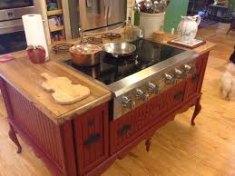 kitchen island custom made to order stove oven sink