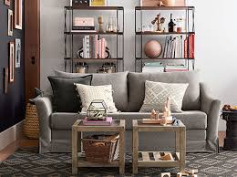 Small Spaces Living Soma Brady Classic Small Spaces Living Room Pottery Barn