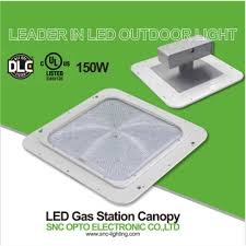 led gas station canopy lights manufacturers 150w ul cul dlc approved led canopy light gas station light