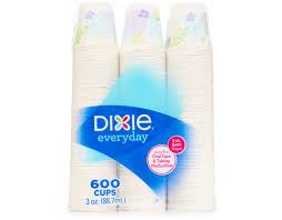 boxed dixie bath cups 600 x 3 oz cups