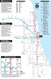 Downtown Chicago Map Chicago Metro Map Subway Mapsofnet Chicago Metro Map Subway