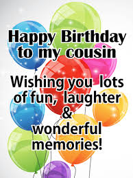 send this beautifull greeting balloons bright color birthday balloon card for cousin send your warmest