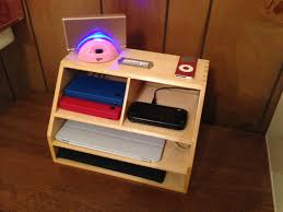 Electronic Desk Organizer Powerup Wooden Desk Organizer Cord And Desks