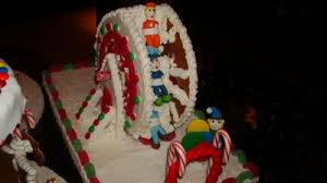 gingerbread ferris wheel this is the first time that i make a