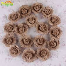 burlap flowers new design vintage burlap flowers hessian jute flower