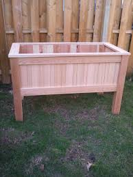 raised planter box by mikerocwood lumberjocks com