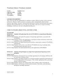 Vet Tech Resume Examples Resume Examples Templates Top Collection Nursing Letter Of