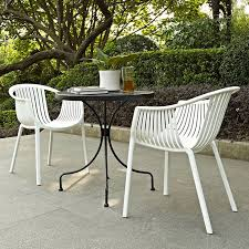 mercury row curnutt stacking patio dining chair reviews wayfair