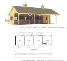 Small Barn Plans This Barn Has It All 30x36