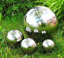 stainless steel garden statues ornaments ebay