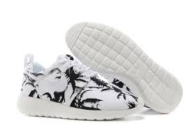 nike outlet black friday deals prices mens nike roshe run pattern shoes palm trees black white