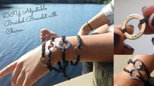 braided bracelet with charms images Diy adjustable braided bracelet with charm jpg
