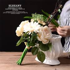cheap silk flowers online get cheap wedding silk flower centerpiece aliexpress