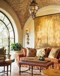 Tuscan Decorating Ideas Tuscan Decorating Living Room With Tapestry And Lantern Tuscan