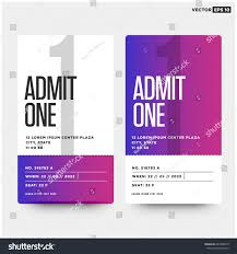 admit one home theater admit one ticket template number venue stock vector 643908619