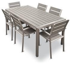 Cheap Patio Dining Sets Stylish Aluminium Outdoor Dining Set Fantastic Aluminum Outdoor