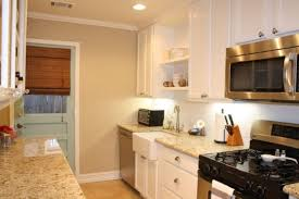 inspiring kitchen color wall combinations using light brown paint