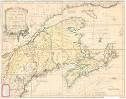 Map Of New England Area by Nova Scotia Archives Historical Maps Of Nova Scotia