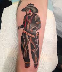traditional cowboy tattoo pictures to pin on pinterest tattooskid