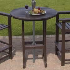 Patio Bar Table Brilliant Outdoor Bar Table Patio Tables Patio Deck Or Garden The