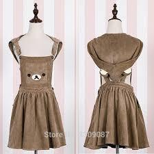 aliexpress com buy harajuku japanese rilakkuma dress cute bear