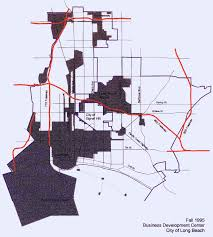 Long Beach Ca Map Enterprise Zone Program