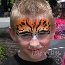 pretty tiger face makeup