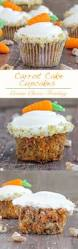carrot cake cupcakes cream cheese frosting