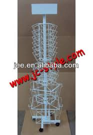 sticker display rack floor standing display stand source quality