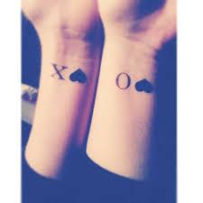 kisses and hugs best friend tattoos popsugar australia love