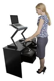 sit stand desk leg kit workez standing desk conversion kit with 2 fans 3 usb ports best