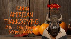 kakadu s american thanksgiving at kakadu shanghai events