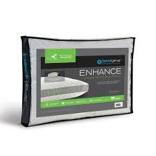 bed gear pillow bedgear enhance performance side sleeper latex and memory foam