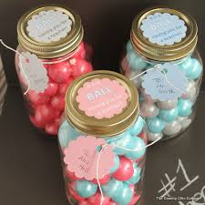 gumball jar gift the country chic cottage