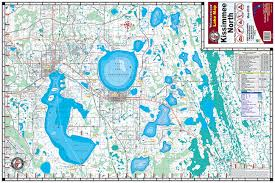 map of kissimmee kissimmee chain 328 kingfisher maps inc