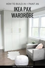 Hack Design This Home Get A Stunning Closet With This Ikea Pax Hack The Sweetest Digs