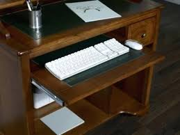bureau informatique en bois bureau ordinateur bois petit bureau informatique malorie en