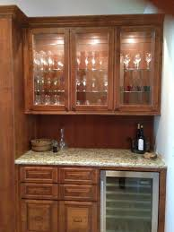 Glass Bar Cabinet Designs Bar Base And Cabinet With Custom Glass Doors