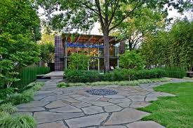modern urban home design square garden design luxury small home brick wall japanese chinese