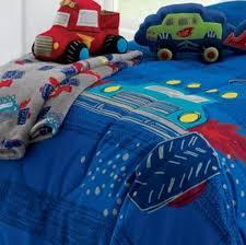 Truck Bedding Sets Trucks Boys Comforter Set 6 Bed In A Bag