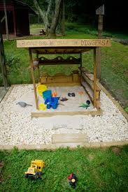 Backyard Sandbox Ideas Living With Kids Ashley English Design Mom