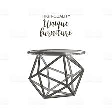 round coffee table stock vector art 639581996 istock