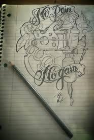 tattoo design brass knuckles tattoo drawings pinterest