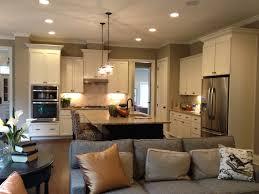 living room open concept living room kitchen singular images