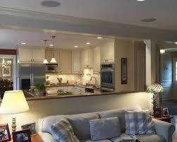 kitchen open kitchen design ideas half partition design living