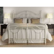 Antique White Metal Bed Frame Bellwood Iron Metal Bed By Inspire Q Classic