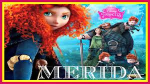 disney pixar brave storybook disney princess merida bedtime