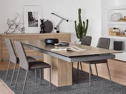 calligaris echo extending table sincro dining table extendable up to 12 people wood ceramic dining