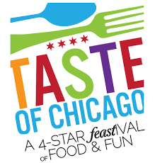 taste of chicago map taste of chicago announces lineup schedule
