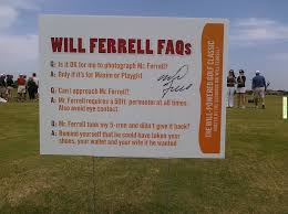 Funny Golf Meme - funny meme will ferrell charity golf rules your daily golf